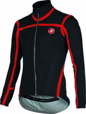 Castelli Pavé jacket black/red mens 15511-010