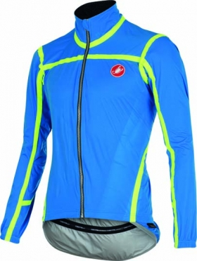 Castelli Pavé jacket blue/yellow-fluo mens 15511-059
