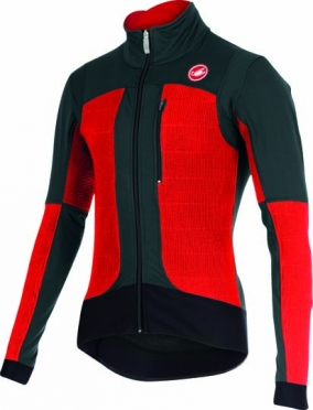 Castelli elemento 2 7x(Air) jacket red/anthracite mens 15519-239