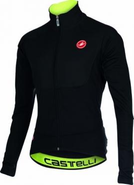 Castelli Passo giau jacket black/yellow-fluo mens 15521-010