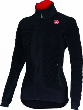 Castelli Elemento 2 7x(Air) cycling jacket black ladies 15557-010