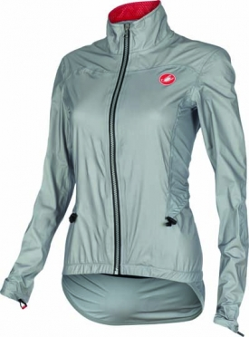 Castelli Donnina rain cycling jacket grey women 15564-008