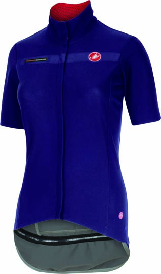 Castelli gabba W short sleeve jacket violet women 15574-061