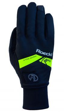 Roeckl Villach winter cycling glove black/yellow unisex