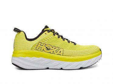 Hoka One One Bondi 6 running shoes yellow men