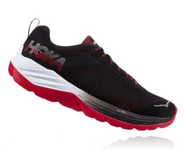 Hoka One One Mach running shoes black/white men
