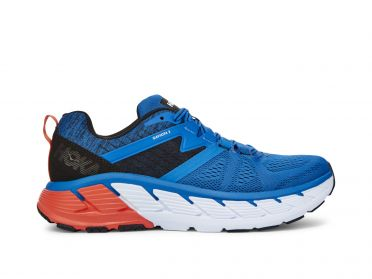 Hoka One One Gaviota 2 running shoes blue/orange men