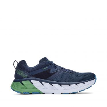 Hoka One One Gaviota 2 runningshoes darkblue/green men