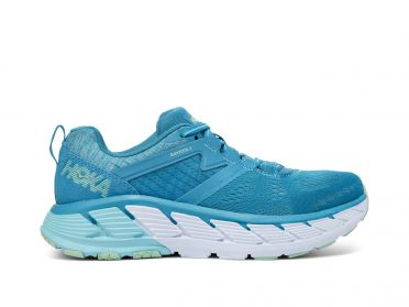 Hoka One One Gaviota 2 running shoes blue women
