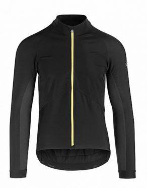 Assos Mille GT spring fall jacket black/yellow men