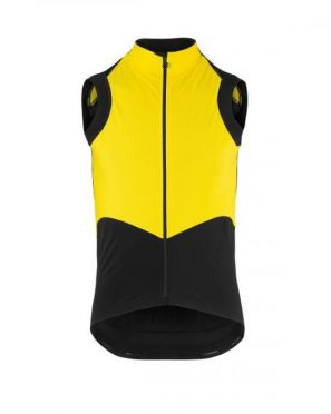 Assos Tiburugiletéquipe sleeveless vest yellow men