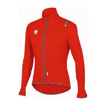 Sportful Hotpack ultralight long sleeve jacket red men