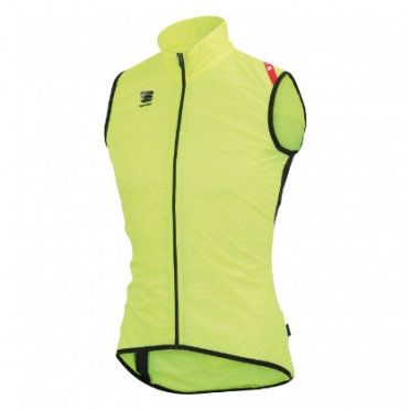 Sportful Hot pack 5 vest yellow fluo/black men