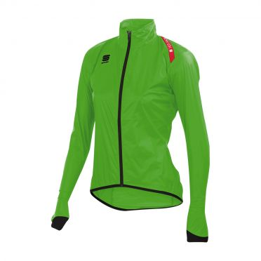 Sportful Hotpack 5 W long sleeve jacket green women