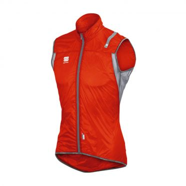 Sportful Hotpack ultralight sleeveless vest red men