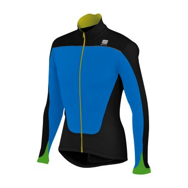 Sportful Force Thermal Jersey black-blue men 01276-274