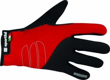 Sportful WS essential cycling glove black red/men