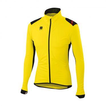 Sportful Hotpack Norain Jacket yellow-black men 01337-091