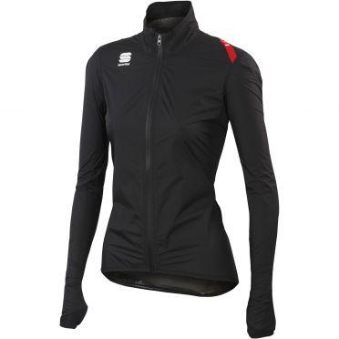 Sportful Hotpack Norain Cycling jersey black women 01338-002
