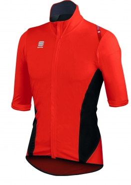 Sportful Fiandre Light Norain Short Sleeve red men