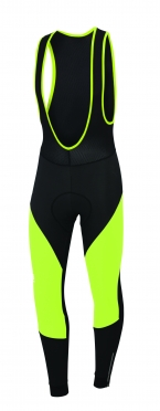 Sportful Fiandre Norain Bibtight yellow  men