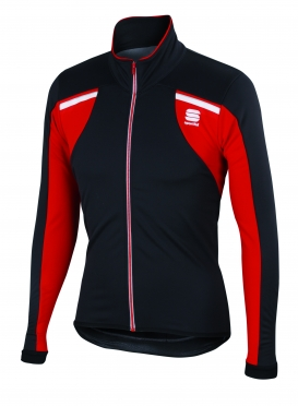 Sportful Alpe 2 Softshell jacket black/red men