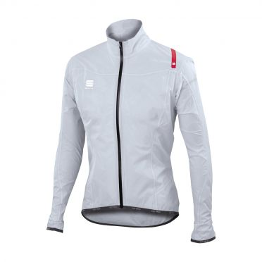 Sportful Hotpack norain ultralight long sleeve jacket silver men