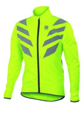 Sportful Reflex long sleeve jacket yellow fluo men