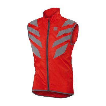 Sportful Reflex sleeveless vest red men