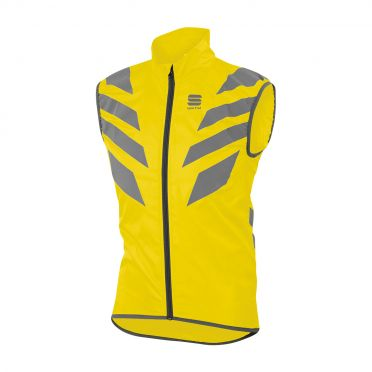 Sportful Reflex sleeveless vest yellow fluo men