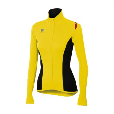 Sportful Fiandre light no-rain W top yellow fluo women