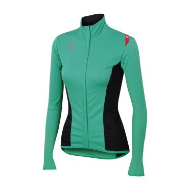 Sportful Fiandre light no-rain W top turquoise women