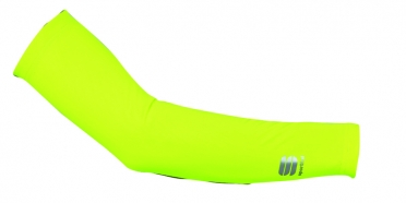 Sportful Fiandre light arm warmers yellow