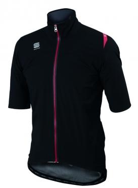Sportful Fiandre windstopper LRR jacket short sleeve black men
