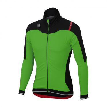 Sportful Fiandre No-Rain Jacket green/black men