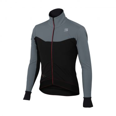 Sportful R&D light long sleeve jacket black/gray men