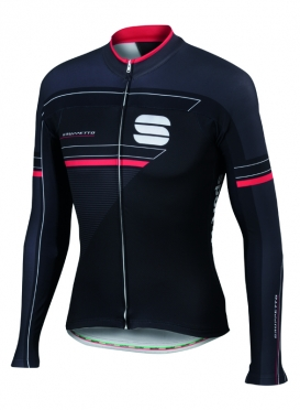 Sportful Gruppetto thermal jersey black men