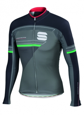 Sportful Gruppetto thermal jersey anthracite men