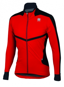 Sportful Pordoi windstopper jacket red men