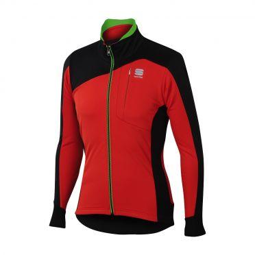 Sportful Edge softshell jacket red/black men