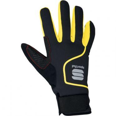 Sportful Sotto zero glove black/yellow fluo men