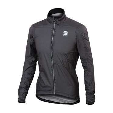 Sportful Stelvio long sleeve jacket anthracite men