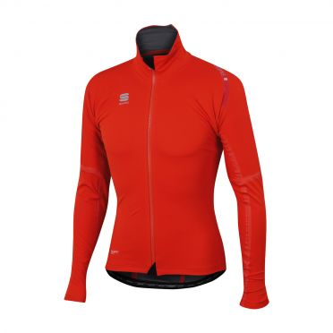 Sportful Fiandre extreme long sleeve jacket red men