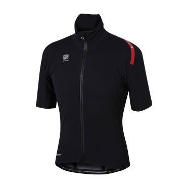 Sportful Fiandre extreme short sleeve jacket black men