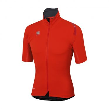 Sportful Fiandre extreme short sleeve jacket red men