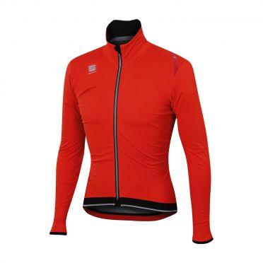 Sportful Fiandre ultimate WS long sleeve jacket red/black men