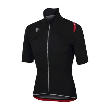 Sportful Fiandre ultimate WS short sleeve jacket black men