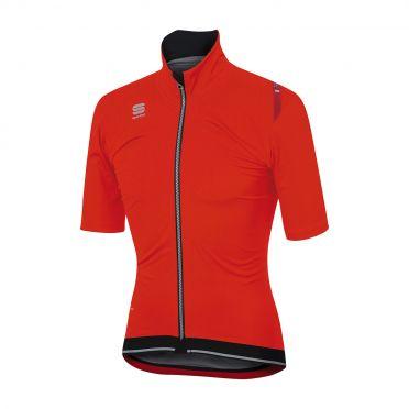 Sportful Fiandre ultimate WS short sleeve jacket red/black men