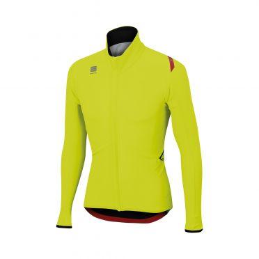 Sportful Fiandre light wind long sleeve jacket yellow men