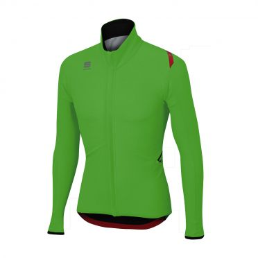 Sportful Fiandre light wind long sleeve jacket green men